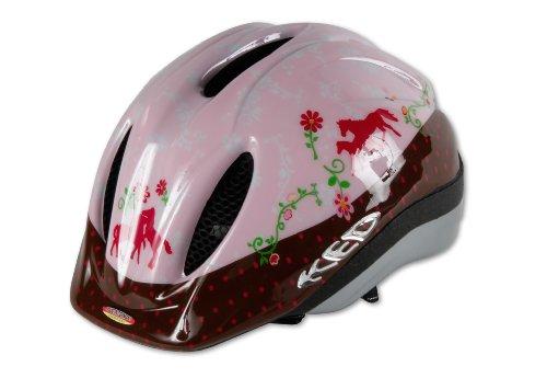 Bike Fashion Pferdefreunde Radhelm Größe M, Mehrfarbig, M