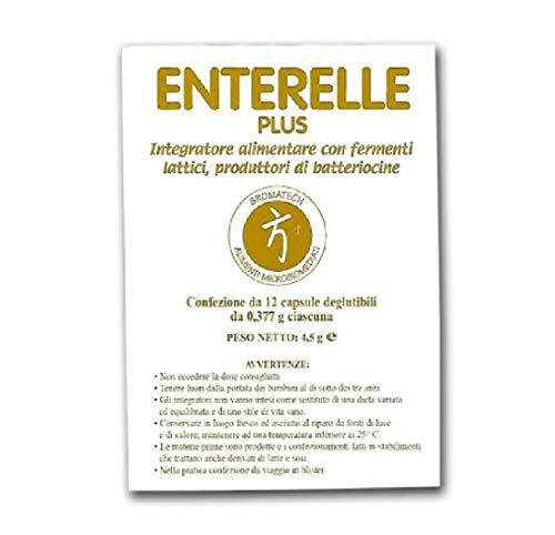 Enterelle Integratori Alimentare con Fermenti Lattici - 12 capsule