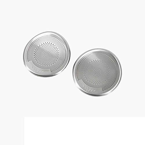 XQRYUB Autolautsprecherdekorationsabdeckung Lautsprecherdekorationsrahmen, Fit für Tesla Model 3