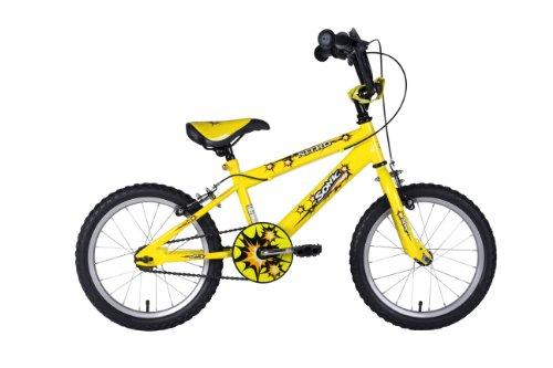 Sonic Nitro Junior Boys BMX 16 inch wheels Bike - Bright Yellow
