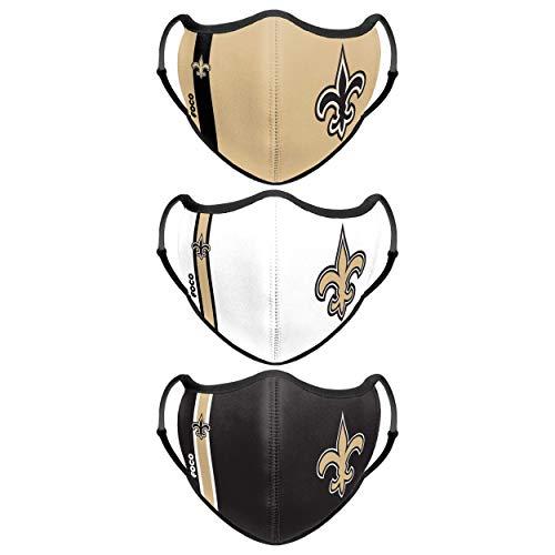 Forever Collectibles UK New Orleans Saint Sport - Confezione da 3