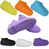 Aagna Silicone Reusable Waterproof Rain Boot Shoe Cover For Men Women Kids