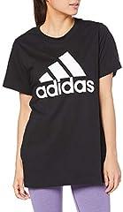 Adidas Originals Camiseta de Manga Corta Negra para Mujer