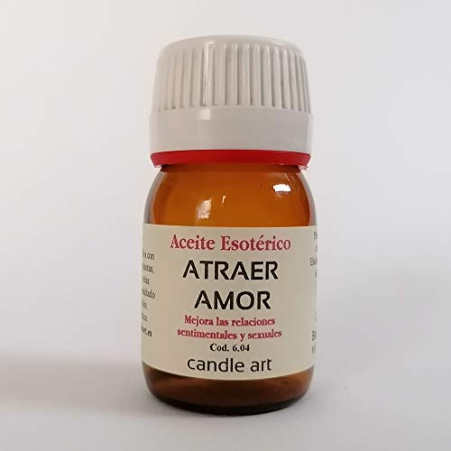 Candle Art Aceite con extracto de Plantas ATRAER Amor - UNGIR Velas