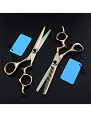 LXH-SH Tijeras de peluquería Profesionales 6 Pulgadas Tijeras de Pelo Gema de Corte Corte de Pelo makas Peluquero Tijera Tijeras de Adelgazamiento Tijeras de peluquería