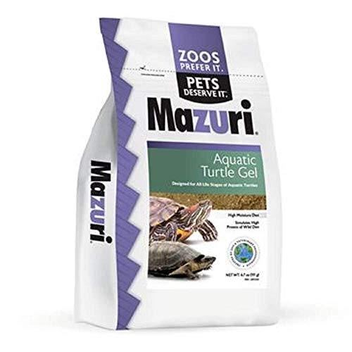 Mazuri | Nutritionally Complete Aquatic Turtle Food | Easy-to-Serve Gel | Freshwater Formula- 6.7 Ounce (6.7 oz) Bag