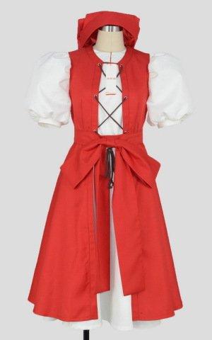 ドラゴンクエストXI(ドラクエ11) ベロニカ 帽子付き コスプレ衣装 [2073] 女性L