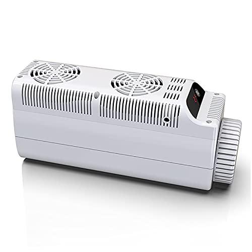WDAA Vaso Refrigerado de Insulina Botella Enfriador de Insulina Portátil 36 Horas Refrigeración para Medicamentos Refrigerador Pequeño Refrigerador Frío Medicina Refrigerada (Blanco)