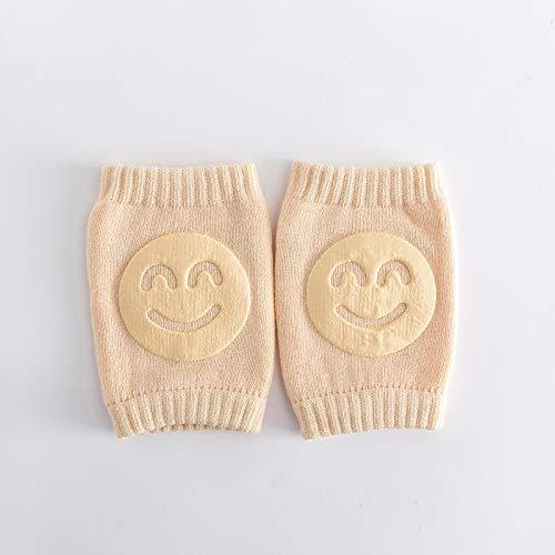 JKCKHA No Resbalón de los niños de arrastre del codo bebés niños pequeños accesorios de bebé de la sonrisa rodilleras protector de seguridad for rodilleras calentador de la pierna muchachos de las niñ
