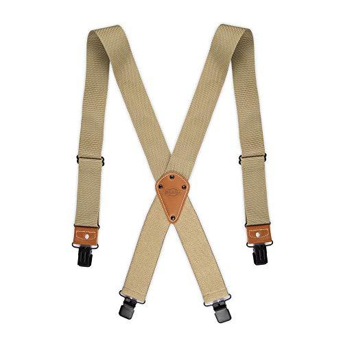 Dickies Men's Industrial Strength Suspenders, khaki, One Size