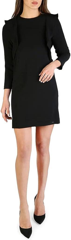 AX Armani Exchange Women's Padded Shoulder Work Dress