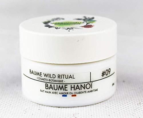 Mademoiselle Botanique - Baume Hanoi Bio – Hydrate Idéal Contre Bleus Maux De Têtes Et Muscles Noués – Cosmétique 100% Naturelle Fabrication Française