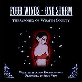 Four Winds - One Storm: The Geohex of Wraith County cover art