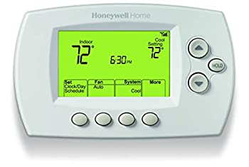 Honeywell Home Wi-Fi 7-Day Programmable Thermostat  RTH6580WF  Requires C Wire Works with Alexa