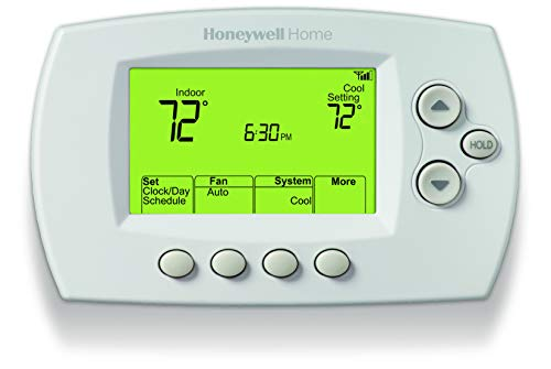 Honeywell Home Wi-Fi 7-Day Programmable Thermostat (RTH6580WF), Requires C Wire, Works with Alexa