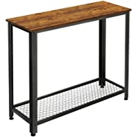 KingSo Console Entryway Sofa Table with Shelf for Living Room Bedroom Entryway Study Balcony Hallway Workshop