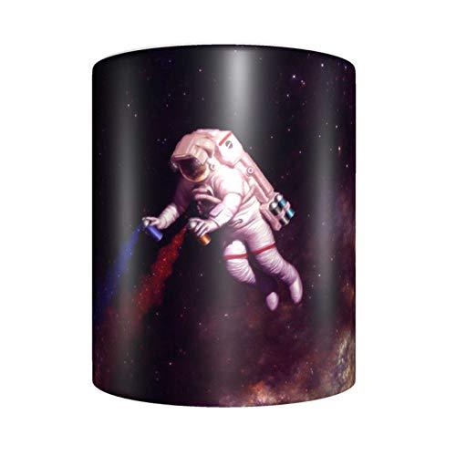 huaichen Taza de café de cerámica, diseño de The Astronaut Artist de The Astronaut