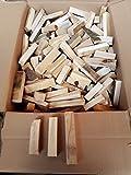 Buche Holzstücke Anzündholz Trocken Holzblöcke Anmachholz Brennholz Feuerholz sauber sägerau (20)