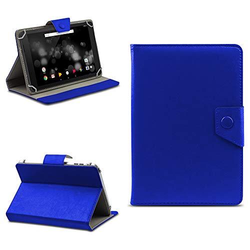 na-commerce Tablet Tasche für TrekStor Primetab P10 Schutzhülle Hülle Case Schutz Cover Etui, Farben:Blau