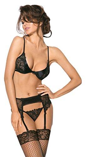 Anais Sensual lingerie zwart Angels Never Sin Aquilo erotisch apparaat S zwart