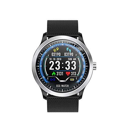Ningz0l Fitnesstracker Smart polshorloge multifunctioneel hartslagmeter bloeddrukmeter waterdicht sport gezondheid armband stappentellers Riemen. zwart