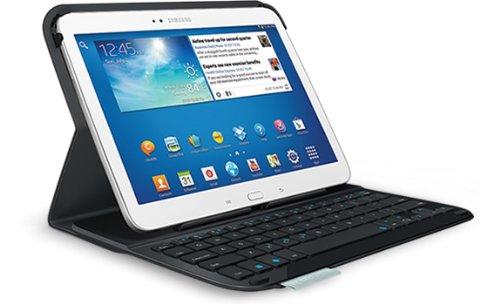 Logitech Ultrathin Keyboard Folio FOR Samsung Galaxy TAB 3 10.1 Tastatur QWERTY (UK)