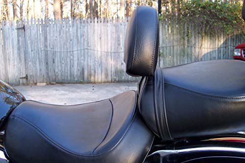 Grasshopper Limited Drivers Backrest for Suzuki C50 Boulevard/Volusia American Made Non Studded Complete System Quick Release