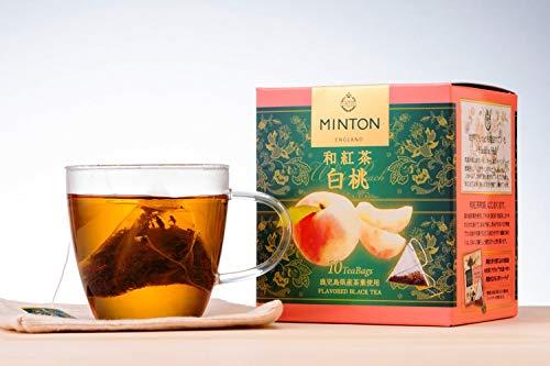 ミントン和紅茶白桃10p×3箱ティーバッグ