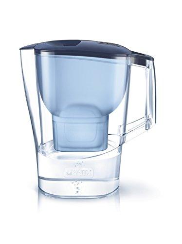 ブリタ 浄水器 ポット 浄水部容量:2.0L(全容量:3.5L) アルーナ XL ブルー マクストラプラス カートリッジ 1個付き 【日本仕様・日本正規品】 塩素 水垢 不純物 除去