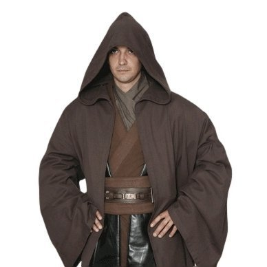 traje traje de Star Wars Jedi de estilo (bata, bolsa de almacenamiento) traje sobre 165cm- unos 180 cm