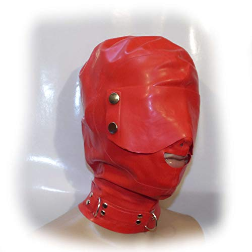 Latex Mask Eyes Gags Size:M