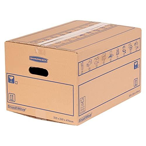 BANKERS BOX 6207201 Kartong, Brun, 32,5 x 27 x 47,5 cm