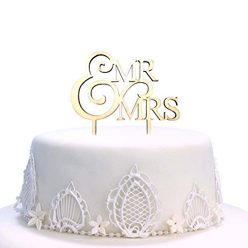 Decoración para tartas con texto en inglés Mr and Mrs Cake, decoración para tarta de boda, fiesta, decoración casera, decoración para tartas, bodas y fiestas B