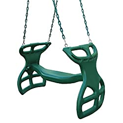 top 10 toddler glider swing Swing-N-Slide WS3452 High-performance double double slider with coated chain…