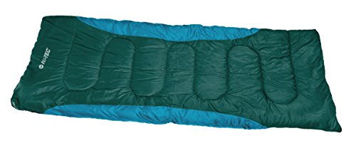 Hi-Tec BARI Sleeping Bags, Dark Green/Ocean Blue, ONE Size