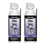 MAX Professional 7777 Blow Off Freeze Spray Electronic Component Cooler (10 oz, 2-Pack)