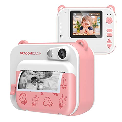 Dragon Touch InstantFun Instant Print Camera for Kids, Zero...