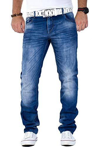 Cipo & Baxx Herren Jeans CD319B, W36/L32 Blau1