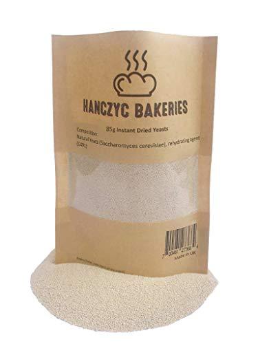 HanczycBakeries - Lievito essiccato istantaneo, 85 g, per panettieri, panettieri, panettieri, pane e vegan