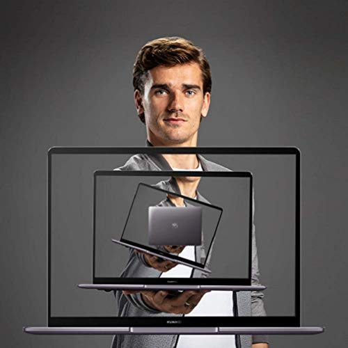 HUAWEI MateBook - PC Portable - 13' écran FullView tactile (Intel Core i7, RAM 8Go, SSD 512Go, Windows 10 Home, Clavier Français AZERTY) - Gris