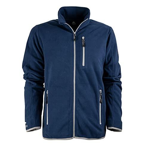 FORSBERG Haakon, Bequeme Fleecejacke, leicht, hochwertig und stylisch, Farbe:blau, Größe:XL
