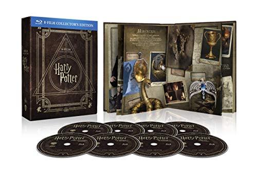 Harry Potter Magical Collection (8 Blu Ray) - Cofanetto con Copertina in Similpelle, Edizione Digibook (32 pagine)