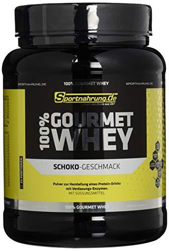 Sportnahrung.de 100% Gourmet Whey - hochwertiges leckeres Protein mit wichtigen Aminosäuren und MCT Schoko-Crème, 700 g