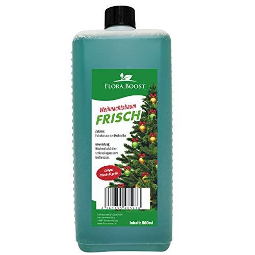 Konfitee Weihnachtsbaum frisch - Länger frisch und grün - Gegen Nadelverlust