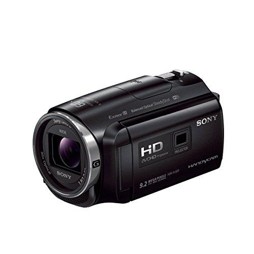 Sony HDR-PJ620 Full HD Camcorder (30x opt., 60x Klarbild-Zoom, 26,8mm Weitwinkel, Optical Steady Shot), integr. Projektor mit 25 Lumen und HDMI Input schwarz