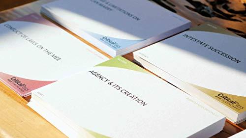 Critical Pass MEE Bar Exam Essay Flashcards
