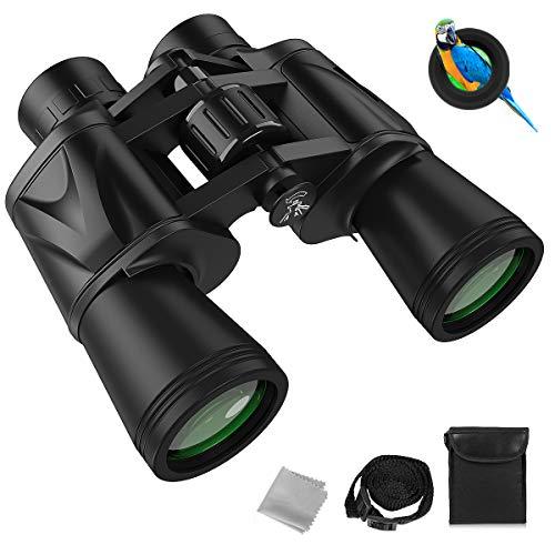 Slopehill Fernglas 12x50 HD Professional Fernglas mit Nachtsicht IPX7 Wasserdicht,Ferngläser für Erwachsene, BAK4 Porroprisma FMC Objektiv für Vogelbeobachtung Jagd und Konzerte