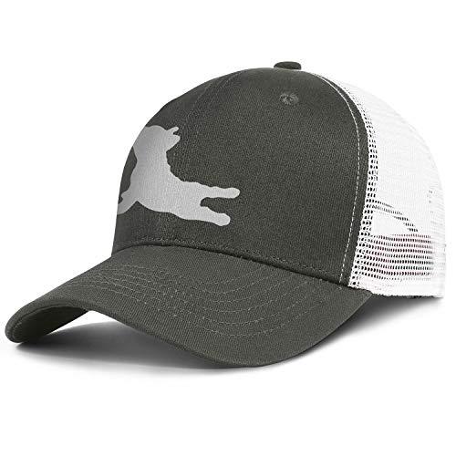Rkouquhuaqi Unisex French Bulldog Yoga Adjustable Snapback Fashion Baseball Caps Mesh Hats Trucker Hat Dad Cap