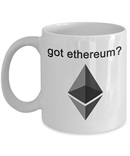 MyFaveGift got ethereum? Ethereum ETH 11oz Coffee Mug Tea Cup Crypto Cryptocurrency Gift Idea Bitcoin