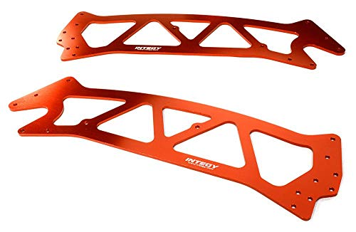 Integy RC Model Hop-ups C26495RED Billet Machined Chassis Plate for HPI Jumpshot MT